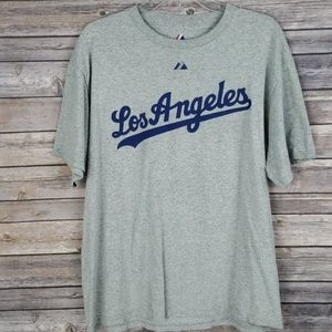 Majestic Dodgers TShirt Large